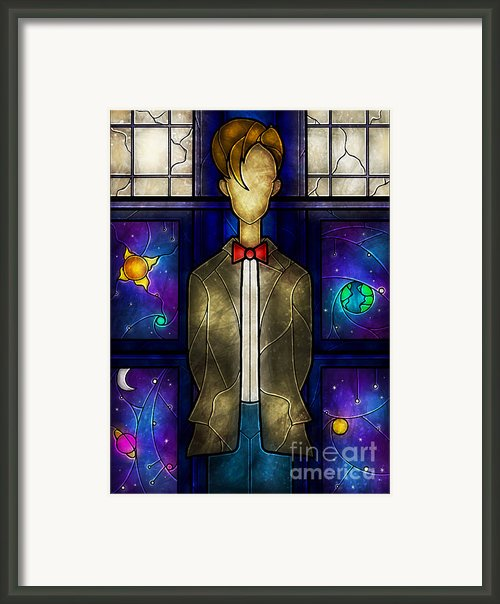 The Doctor Framed Print By Mandie Manzano