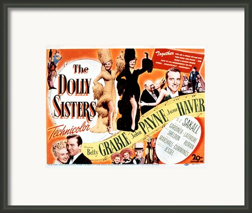The Dolly Sisters, Betty Grable, June Framed Print By Everett