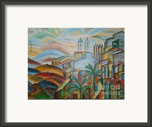 The Dream City Framed Print By Prasenjit Dhar