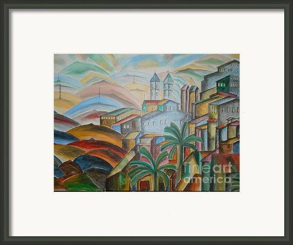 The Dream City Framed Print By Prasenjit Dhar