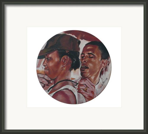 The Dream Team Framed Print By Belle Massey