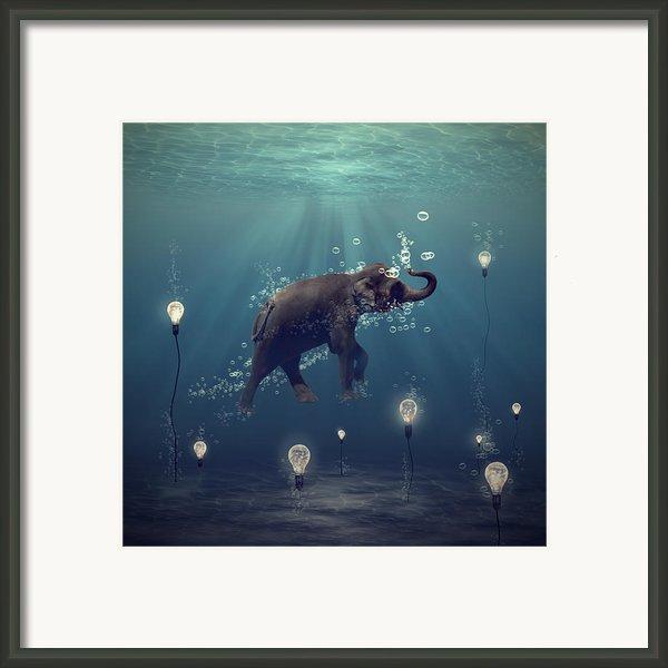 The Dreamer Framed Print By Martine Roch