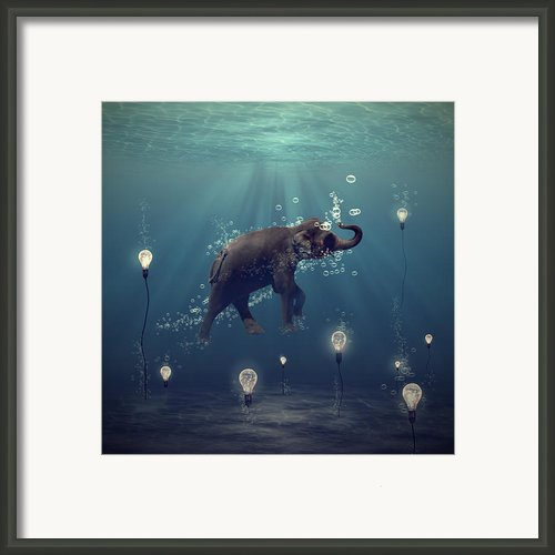 The Dreamer Framed Print By Martine Roch