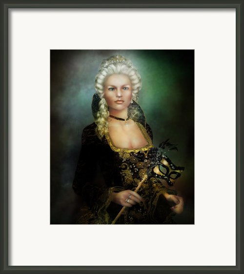 The Duchess Framed Print By Karen Koski