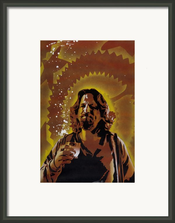 The Dude Framed Print By Iosua Tai Taeoalii