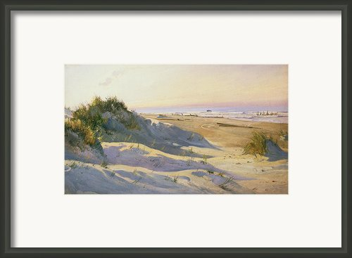 The Dunes Sonderstrand Skagen Framed Print By Holgar Drachman
