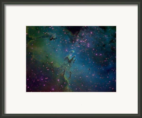 The Eagle Framed Print By Charles Warren