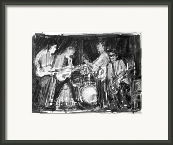 The Early Beatles Framed Print By Russell Pierce