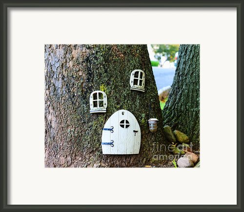 The Elf House Framed Print By Paul Ward