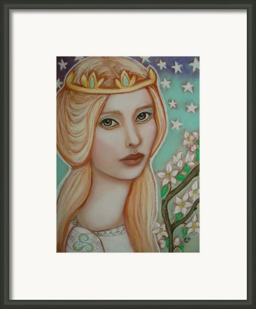 The Empress Framed Print By Tammy Mae Moon