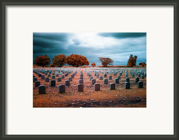 The End 2 Framed Print By Skip Nall