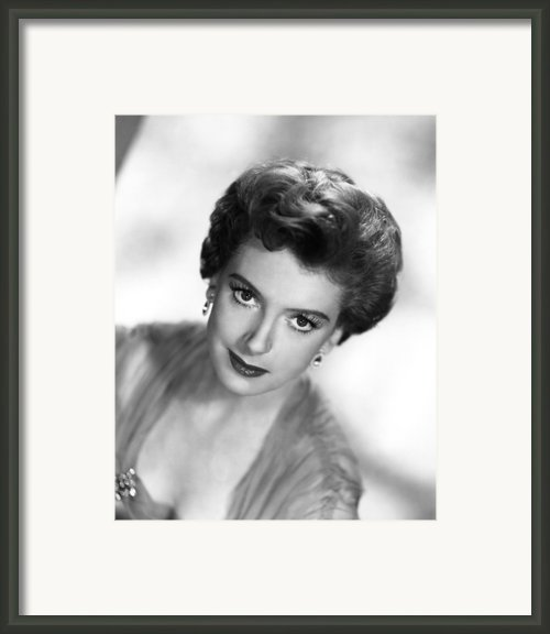 The End Of The Affair, Deborah Kerr Framed Print By Everett