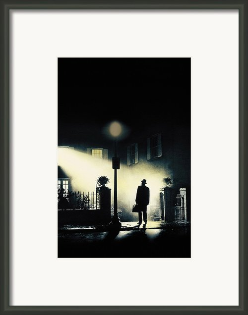 The Exorcist, Poster Art, 1973 Framed Print By Everett