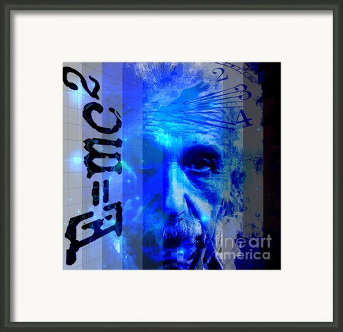 The Face Of Time Framed Print By Larry Guterson