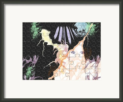 The Fairies Are Loose Framed Print By Paula  Adams