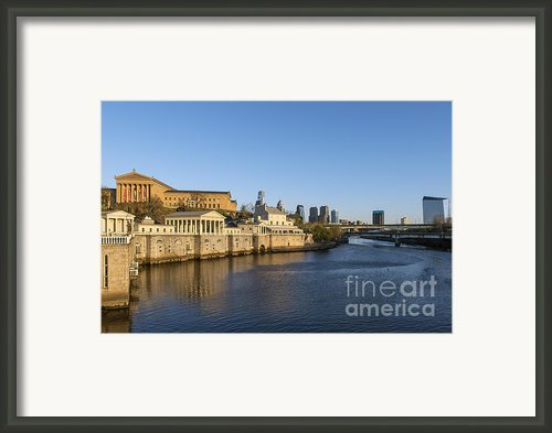 The Fairmount Water Works Framed Print By John Greim
