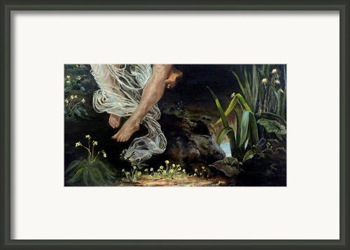 The Feeling Of Spring Framed Print By Diko