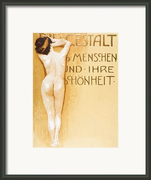 The Female Body Framed Print By Stefan Kuhn