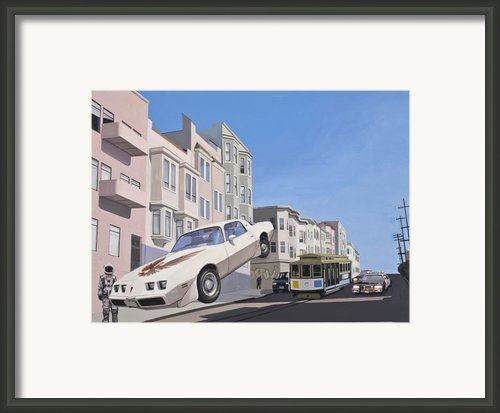The Firebird Framed Print By Scott Listfield