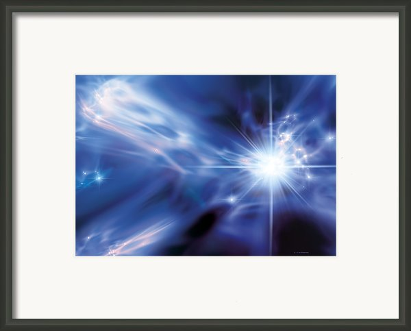 The First Stars, Artwork Framed Print By Detlev Van Ravenswaay