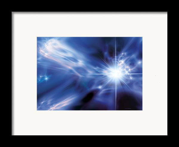 The First Stars, Artwork Framed Print By Detlev Van Ravenswaay