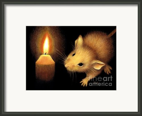 The Flame Framed Print By Karen Hull