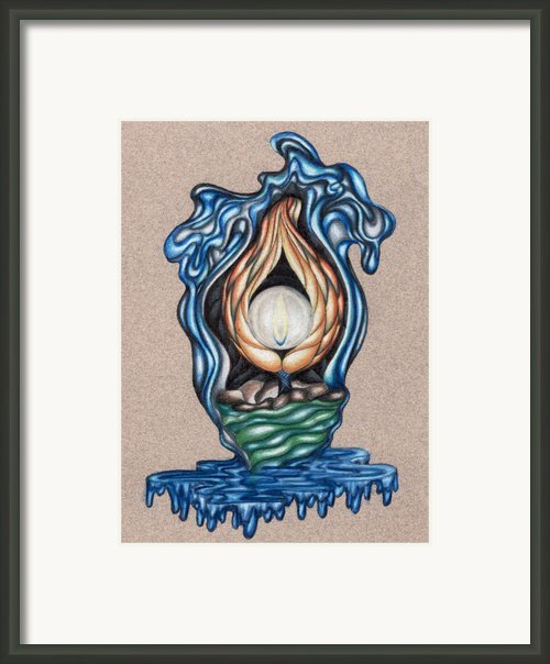 The Flame Never Dies Framed Print By Karen Musick