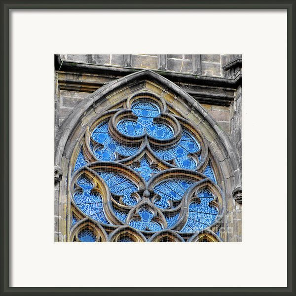 The Folly Of Windows In Prague Framed Print By Christine Till