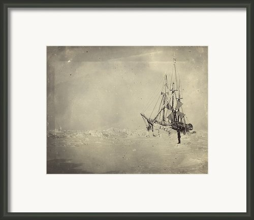 The Frams Hull Was Built To Stand Framed Print By Fridtjof Nansen