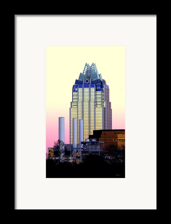 The Frost Tower  Framed Print By Lisa  Spencer