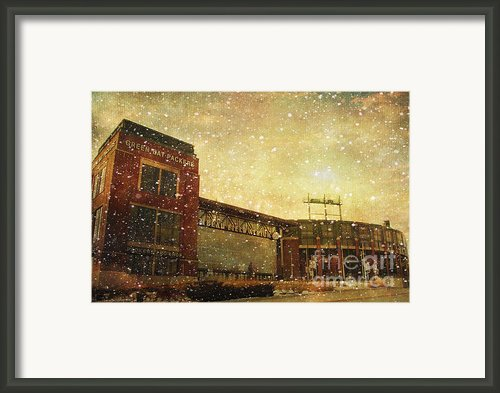 The Frozen Tundra Framed Print By Joel Witmeyer