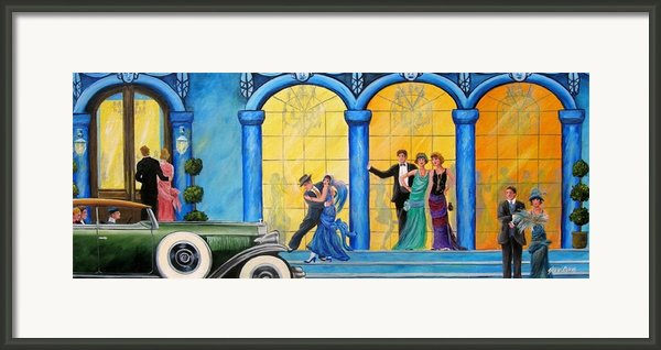 The Gala Framed Print By Sharon Kearns