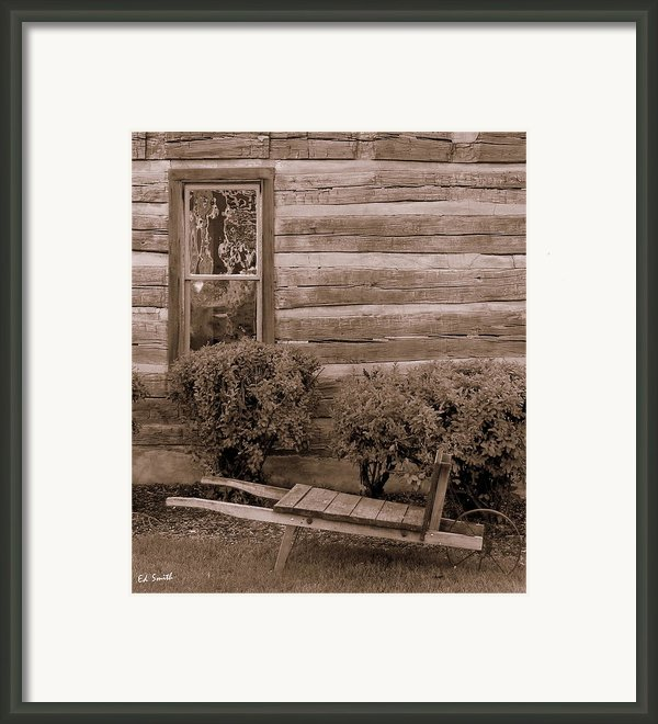 The Gardener Framed Print By Ed Smith