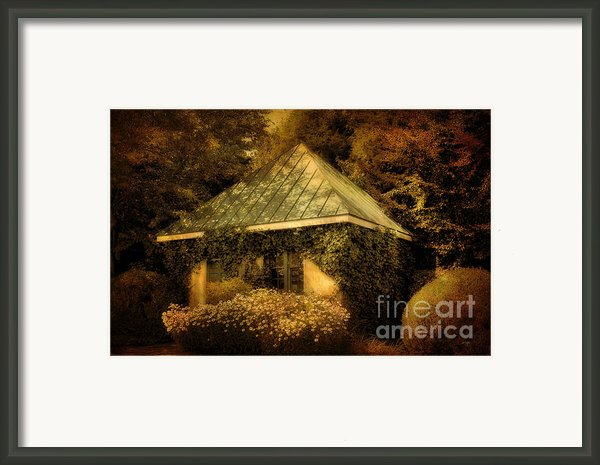 The Gatehouse Framed Print By Lois Bryan