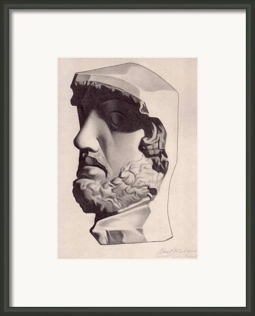 The General Framed Print By Stuart Monkhouse