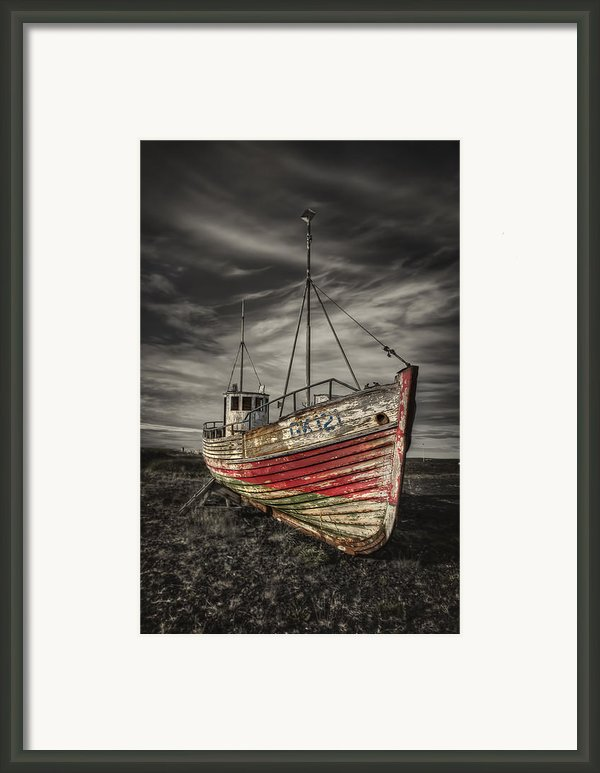 The Ghost Ship Framed Print By Evelina Kremsdorf