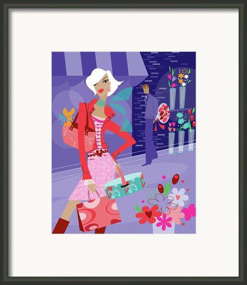 The Gift Framed Print By Lisa Henderling