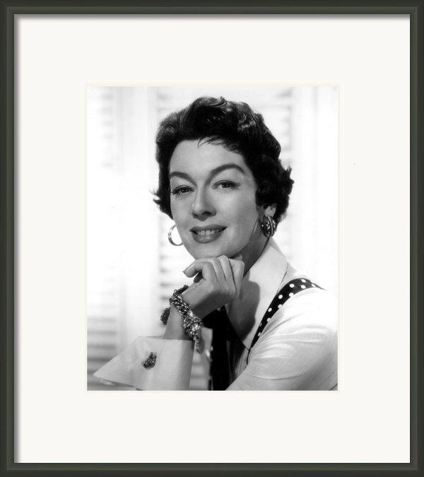 The Girl Rush, Rosalind Russell, 1955 Framed Print By Everett
