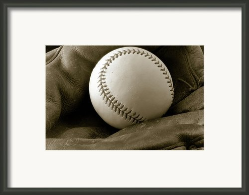 The Glove Framed Print By Shawn Wood