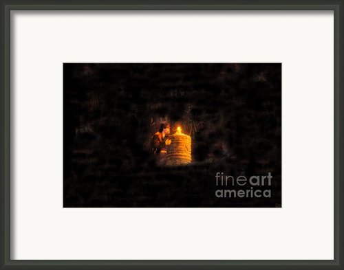 The Golden Idol Framed Print By David Lee Thompson