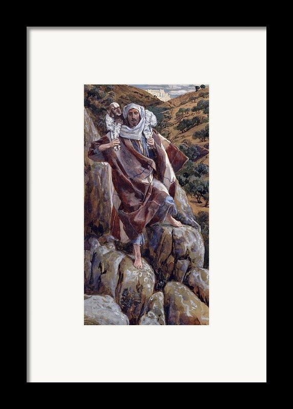The Good Shepherd Framed Print By Tissot