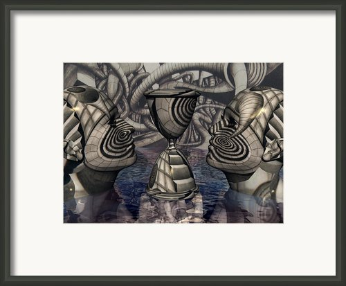 The Grail Of Two Minds Framed Print By Jon David Gemma