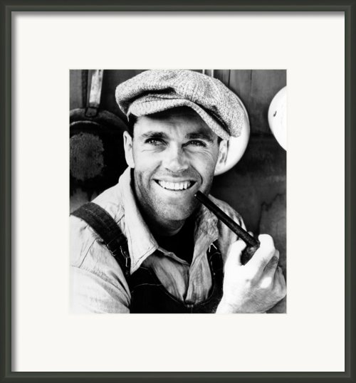The Grapes Of Wrath, Henry Fonda, 1940 Framed Print By Everett