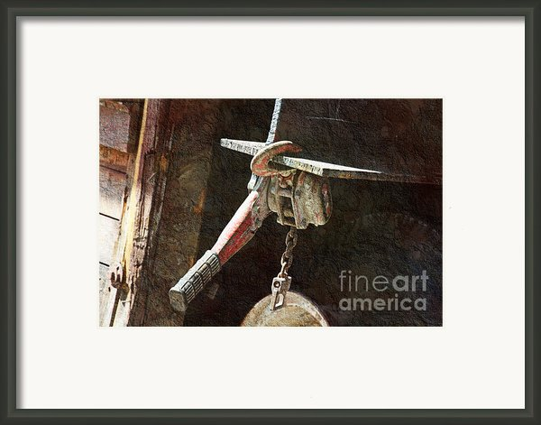 The Great Hoist Framed Print By Andee Photography