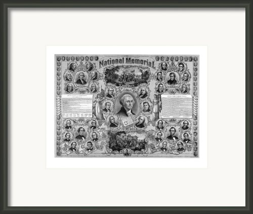 The Great National Memorial Framed Print By War Is Hell Store