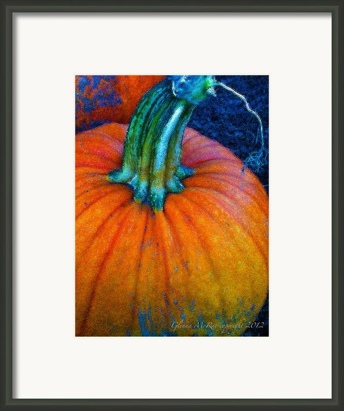 The Great Pumpkin Framed Print By Glenna Mcrae