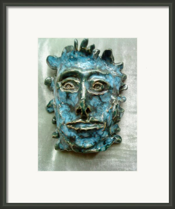 The Green Man Framed Print By Paula Maybery