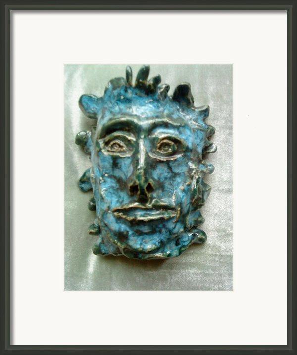 The Green Man Framed Print By Paula Maybery
