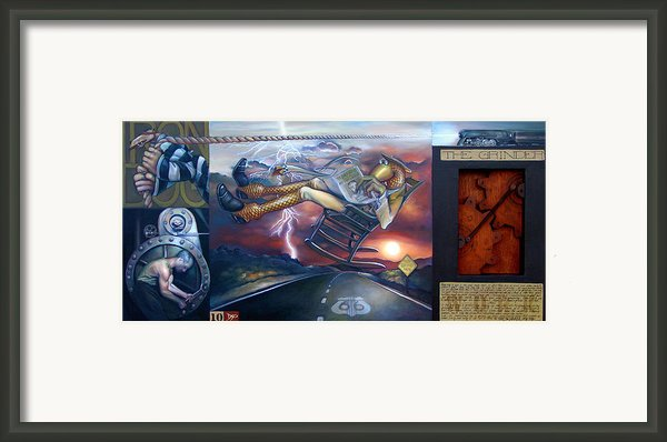 The Grinder Framed Print By Patrick Anthony Pierson