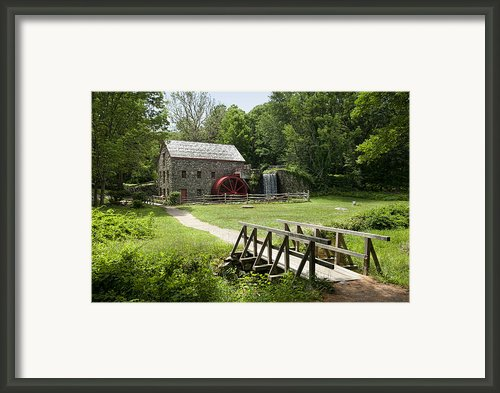 The Grist Mill Framed Print By Lee Fortier